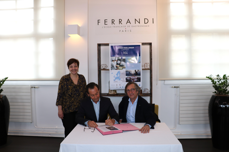 Signature de la Charte Ethic Ocean, le 9 avril 2018, à l'occasion des épreuves du concours Olivier Roellinger, pour la préservation des ressources de la mer
