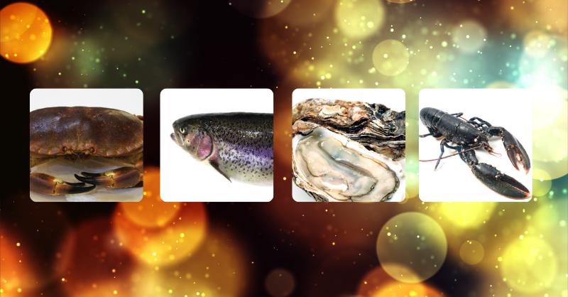 Consommation durable pour les fêtes de fin d'année : tourteau, saumon, huitre, homard