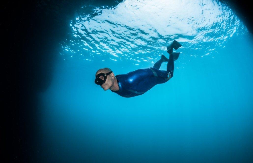 Plongée avec Jean-Marc Barr